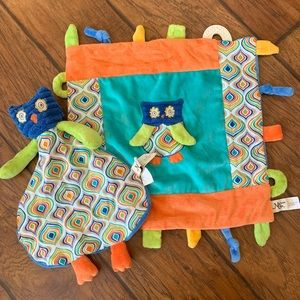 Maison Chic owl lovey and multifunction blankie
